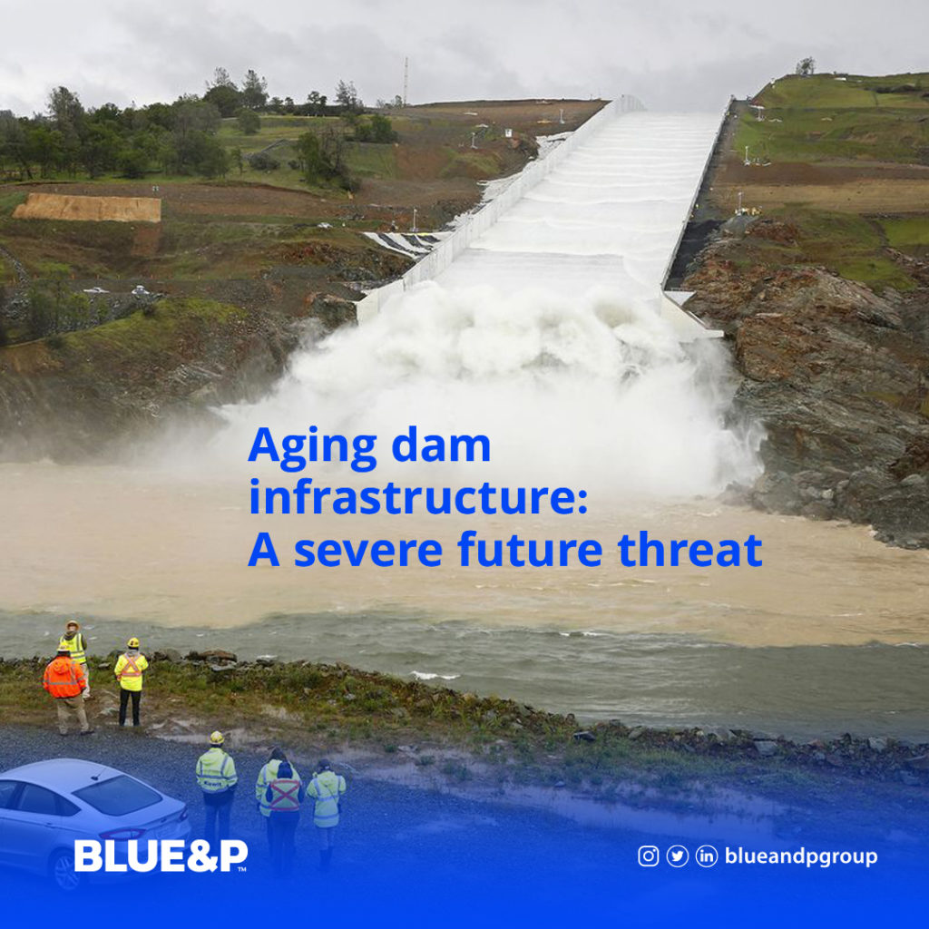 Aging dam infrastructure: A severe future threat