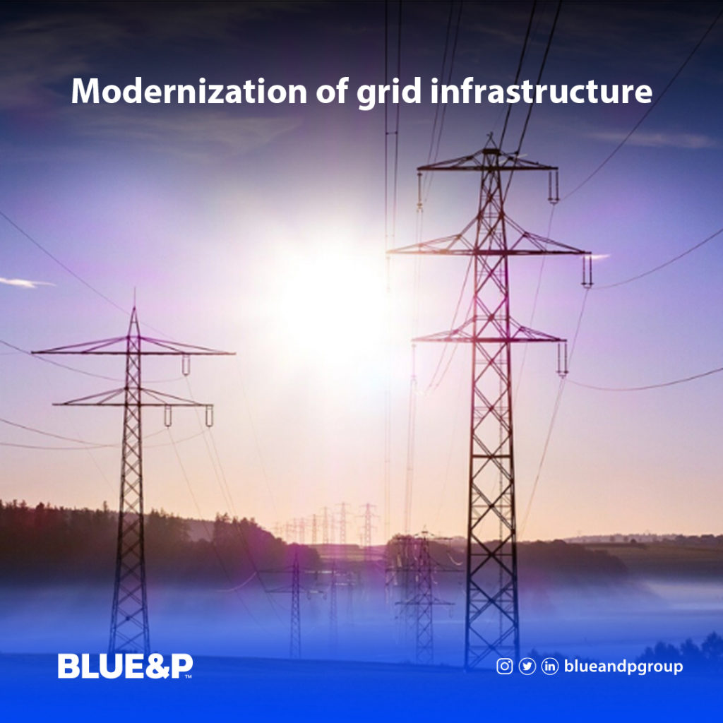 Modernization of grid infrastructur