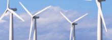 The wind farm and the restrictions on this technology