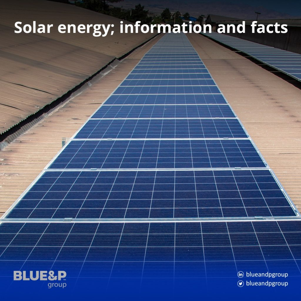 Solar energy; information and facts