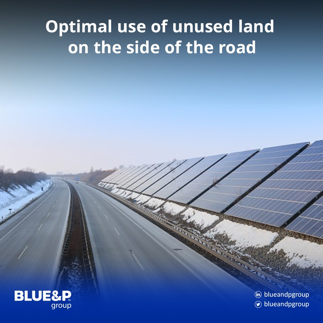 Optimal use of unused land on the side of the road
