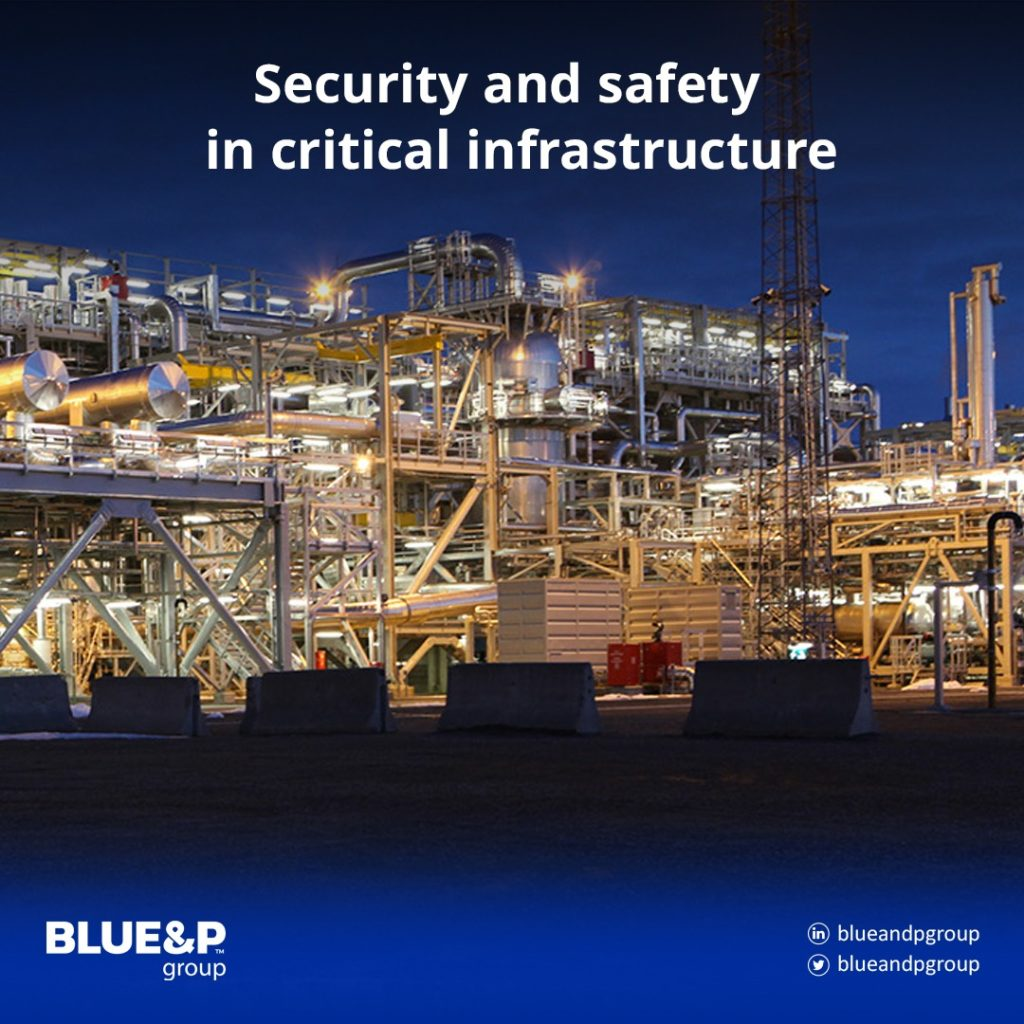 Security and safety in critical infrastructure