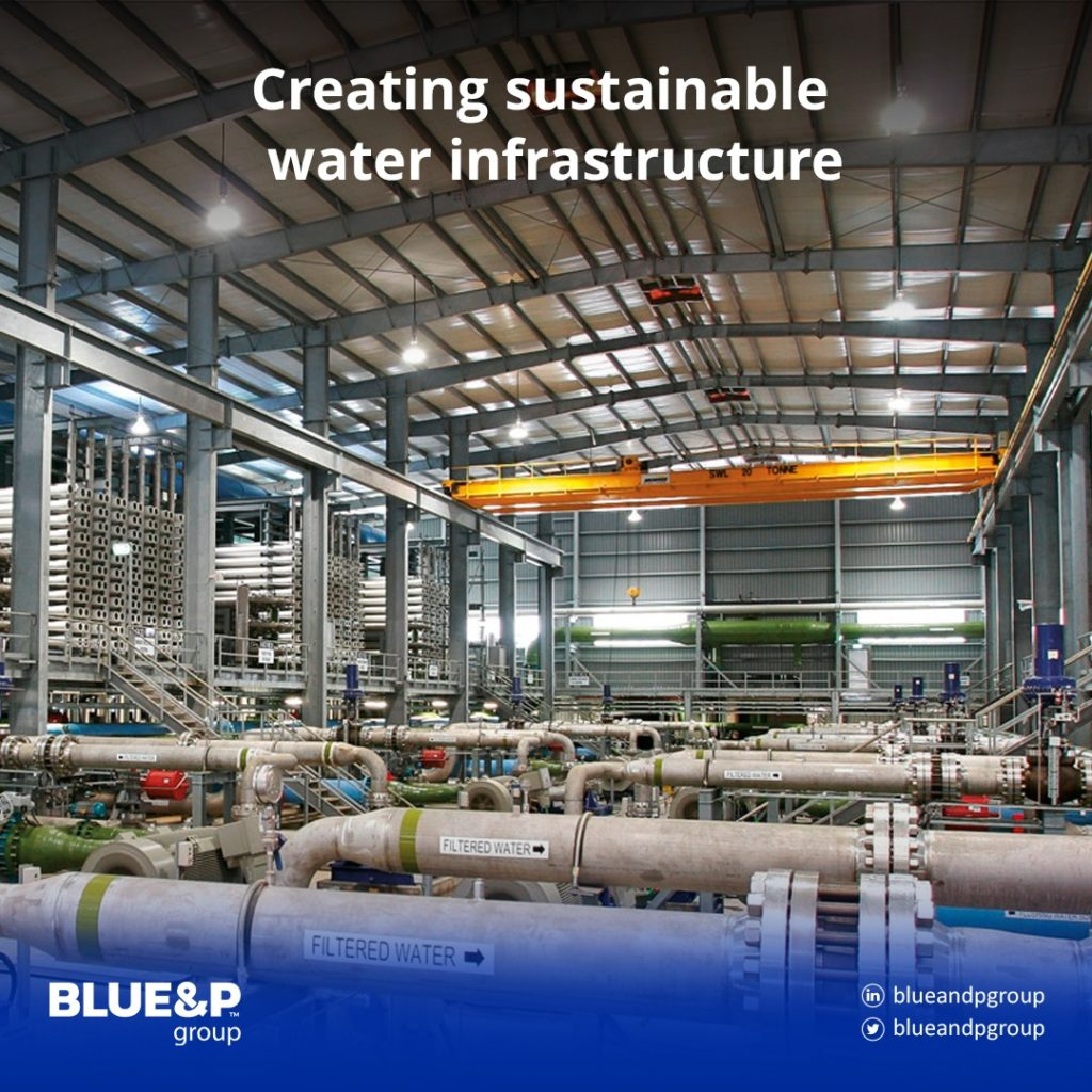 Creating sustainable water infrastructure